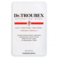 Tosowoong Dr. Troubex Soothing Mask Pack - Mască calmantă Dr.Troubex