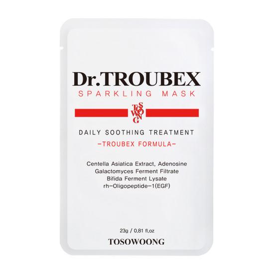 Tosowoong Dr. Troubex Soothing Mask Pack - Mască calmantă Dr.Troubex
