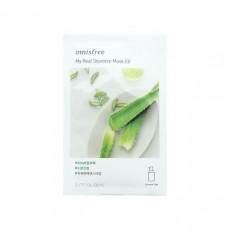 Innisfree My real squeeze Aloe mask - Mască cu extract de aloe