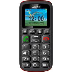 Telefon mobil Maxcom MM428BB, Black/Red