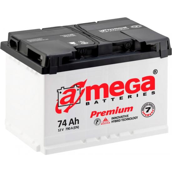 Baterie auto 60 Ah Amega Premium