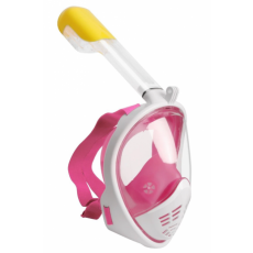 Mască pentru înot Intex M2068G S/M, White/Pink