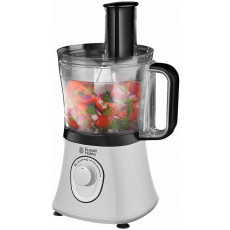 Кухонный комбайн Russell Hobbs Food Processor 19005-56/RH, Silver/Black