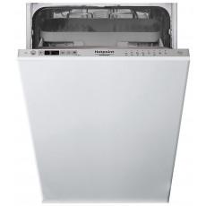 Maşina de spalat vase Hotpoint-Ariston HSIC 3T127 C, White