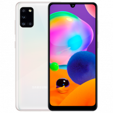 Smartphone SAMSUNG Galaxy A31 (4 GB/128 GB) White