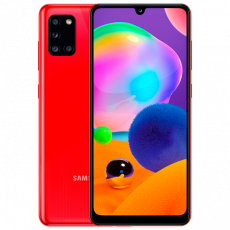 Smartphone SAMSUNG Galaxy A31 (4 GB/64 GB) Red