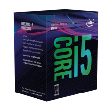 Procesor Intel Core i5 8600 Box (3.1 GHz-4.3 GHz/9 MB/LGA1151)