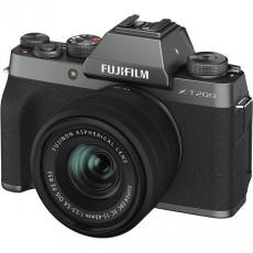 Aparat foto Fujifilm X-T200 Dark Silver, Fujinon XC15-45mm F3.5-5.6 OIS PZ