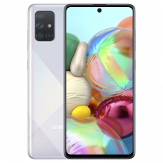 Smartphone SAMSUNG Galaxy A71 (6 GB/128 GB) Silver