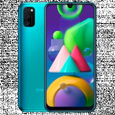 Smartphone SAMSUNG Galaxy M21 (4 GB/64 GB) Green