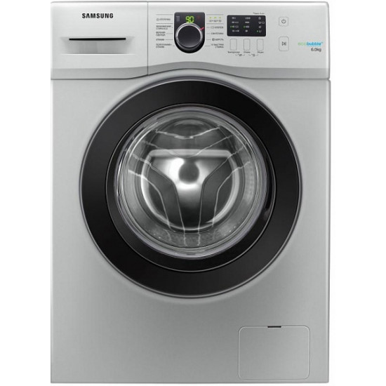 Стиральная машина Samsung WF60F1R2E2SDBY, Grey, 6 Kg