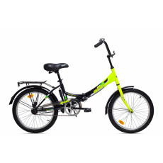 "Bicicletă Aist Smart 20"" 1.0, Black-Yellow"