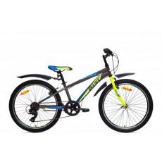 Bicicletă Aist Rocky Junior 1.0, Grey-Yellow