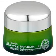 Deoproce Aloe Vera Oasis Day Cream - Cremă de zi pentru față cu extract de aloe