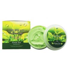 Deoproce Natural Skin Green Tea Nourishing Cream - Cremă hrănitoare pentru față cu extract de ceai verde