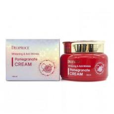 Deoproce Pomegranate Cream Anti-Age - Cremă anti-îmbătrânire pentru față cu extract de rodie