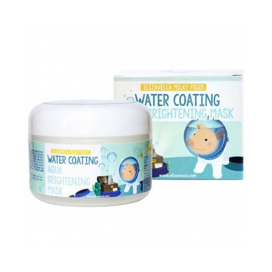 Elizavecca Milky Piggy Water Coating Aqua Brightening Mask - Mască hidratantă pentru față