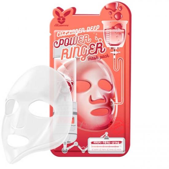 Elizavecca Collagen Deep Power Mask Pack - Mască de pânză cu colagen