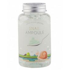 Esfolio Snail Ampoule - Gel-fiolă cu mucin de melc