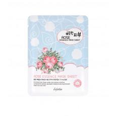 Esfolio Pure Skin Rose Essence Mask - Mască de pânză cu extract de trandafir