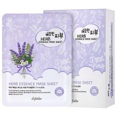 Esfolio Pure Skin Herb Essence Mask - Mască de pânză cu extract de ierburi