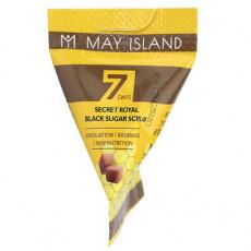May Island 7 Days Secret Royal Black Sugar Scrub - Scrub cu zahăr pentru față