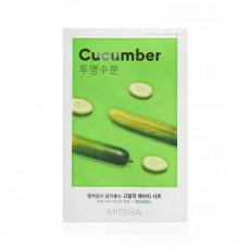 Missha Sheet Mask Cucumber - Mască din pânză pentru față cu extract de castravete