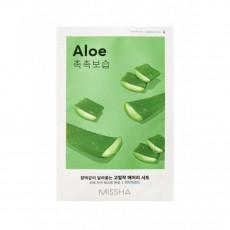 Missha Sheet Mask Aloe - Mască din pânză pentru față cu extract de aloe