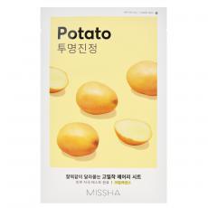 Missha Sheet Mask Potato - Mască din pânză pentru față cu extract de cartof