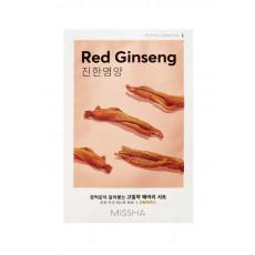 Missha Sheet Mask Red Ginseng - Mască din pânză pentru față cu extract de ginseng