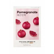 Missha Sheet Mask Pomegranate - Mască din pânză pentru față cu extract de rodie