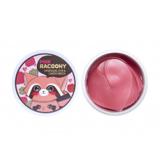 Secret Key Pink Racoony HydroGel Eye & Cheek Patch - Patch-uri hydrogel pentru ochi și pomeți