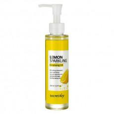 Secret Key Lemon Sparkling Cleansing Oil - Ulei hidrofil pentru față cu extract de lămâie