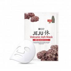 SNP Jeju Rest Volcanic Ash Mask - Mască de pânză cu cenușă vulcanică