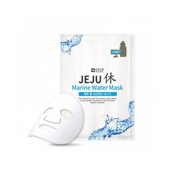 SNP Jeju Rest Marine Water Mask - Mască din pânză pentru față cu apă de mare