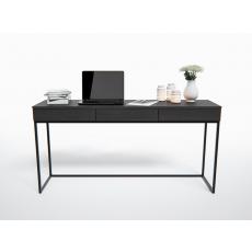 Masă de birou Indart Masa Loft 03, White/Black