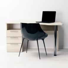 Masă de birou Indart Desk 07, Wood/White