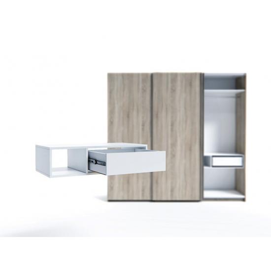 Raft pentru dulap Indart Blok 06 (90 cm), White