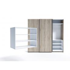 Raft pentru dulap Indart Blok 07 (90 cm), White