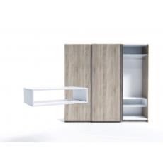 Raft pentru dulap Indart Blok 08 (90 cm), White