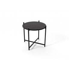 Noptieră Indart Round (53 cm), Black