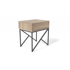Noptieră Indart TRYNITI (50 cm), Wood