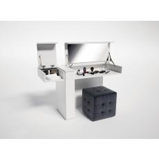 Masă de toaletă Indart 07 (135 cm), White