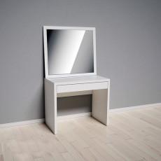 Masă de toaletă Indart 03 (90 cm), White
