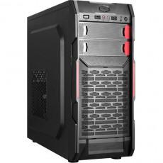 Carcasă HPC B-09, Black/Red (ATX)