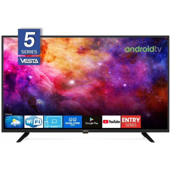 """Televizor LED 32 """" Vesta LD32E5202, Black"""