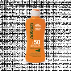 Loțiune pentru protecția solară SPF50 Babaria Sun Sunscreen Lotion Aloe SPF50 cu extract de aloe, 100 ml