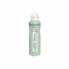 Deodorant Babaria Spray Deodorant Fresh & Sensitive cu extract de aloe, 200 ml