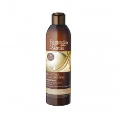Sampon Bottega Verde Keratina & Cashmere pentru păr deteriorat, 250 ml