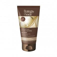 Balsam pentru păr Bottega Verde Keratina & Cashemire pentru păr deteriorat, 150 ml